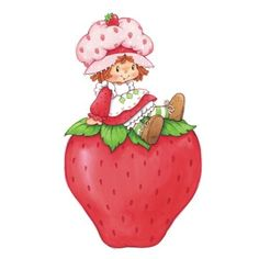 Walls 360 Peel & Stick Wall Decals: Strawberry Shortcake & Giant Strawberry in x 12 in) Strawberry Shortcake Cartoon, Strawberry Shortcake Birthday, Giant Strawberry, Tarjetas Diy, Rainbow Brite, Holly Hobbie, Vintage Cartoon, Clipart, Paper Dolls