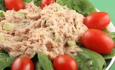 Lean & Green Medifast Recipes: Tuna Salad - New Ideas Medifast Recipes, Tuna Recipes, Salad Recipes, Diet Recipes, Cooking Recipes, Healthy Recipes, Easy Recipes, Shrimp Recipes, Weight Watchers Tuna Salad Recipe