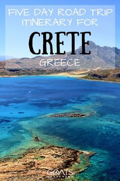Things To Do In Crete | Best of Greek Islands | Island Hopping | Crete Road Trip | #greekislands #honeymoon #beautifulvacations