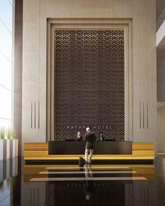 Design Hotel, Design Entrée, Design Ideas, Hotel Lobby Interior Design, Hotel Interiors, Office Interiors, Corporate Interiors, Design Interiors, Design Comercial