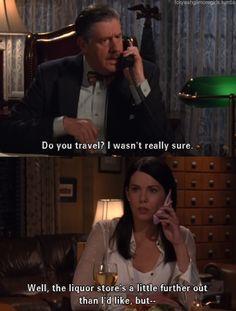 Oh Lorelai Gilmore...