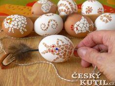 Velikonoční mozaiková vajíčka Monster Energy, Egg Shells, Easter Eggs, Origami, Crafts For Kids, Inspiration, Raves, Festivals, Dyi