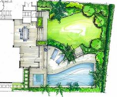 new zealand rendering garden plan drawings - Google Search