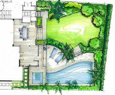 new zealand rendering garden plan drawings - Google Search