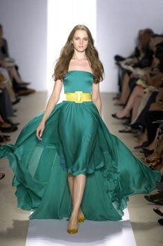 emerald dress / szmaragdowa sukienka wieczorowa
