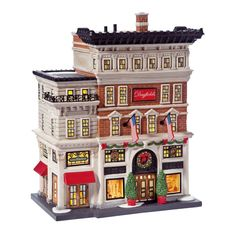 Amazon.com - Department 56 Christmas in the City Village Dayfield's Department Store Lit House