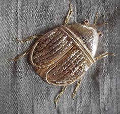 Gold work beetle