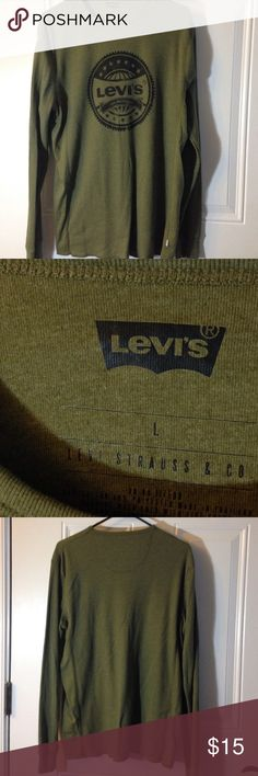 Levi's Long Sleeve Great Condition Levi's Shirts Tees - Long Sleeve