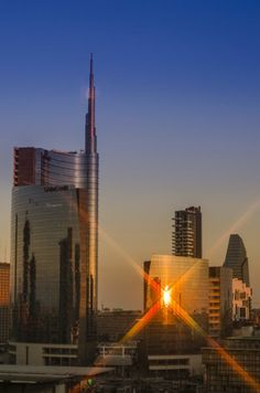 Milan skyscrapers #WonderfulMilan #WonderfulExpo2015