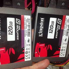 Dual SSD Server powered by @kingstonlatam