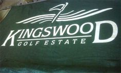 Kingswood Golf Estate Printed on shade cloth