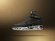 Nike 'Equality' Air Force 1 High BHM - EU Kicks: Sneaker Magazine