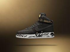 Nike 'Equality' Air Force 1 High BHM - EU Kicks: Sneaker Magazine