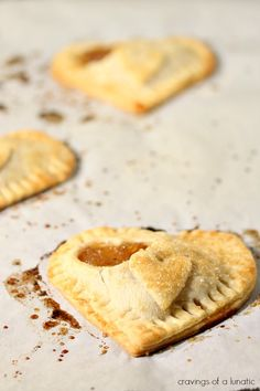 Apple Hand Pies | Cravings of a Lunatic | Cute little Pies that are easy to make and wicked adorable!