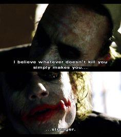The Dark Knight, Movie quote, joker