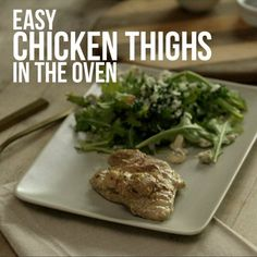 How To Make Chicken Thighs in the Oven: The Video!