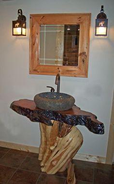 Bathroom Furniture (stone sink)