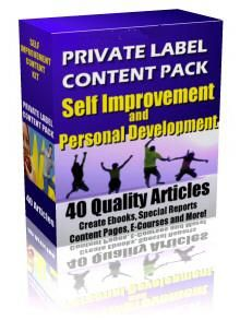 Self Improvement Audio Pack - MP3 - Master Resale Rights