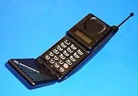 Motorola MicroTAC – some firsts in size and design (1989)  The Motorola MicroTAC analogue was the next leap forward in mobile phone design and was released by Motorola on Tuesday, April 25th, 1989. It was the smallest and lightest mobile phone and featured a flip-open mouthpiece (semi-clamshell), arguably the forerunner of the clam-shell in design concept.. It was immediately an object of desire for the wealthy customers and carried a corresponding price tag of $3000.