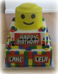Lego Cake - use the bottom sides for a sheet cake?