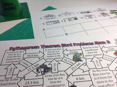 13 Pythagorean Theorem Activities for Your Classroom - Idea Galaxy Math Stations, Math Centers, Simplifying Expressions, Feedback For Students, Pythagorean Theorem, Secondary Math, Math Practices, Math Concepts, Free Math