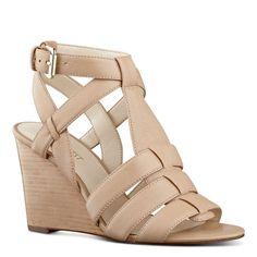 Farfalla Caged Wedge Sandals