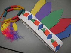 Image result for Preschool Thanksgiving Crafts Indians