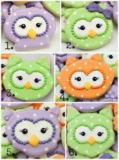 Owl Cookies 12