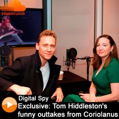 Tom Hiddleston chats to director Josie Rourke and shows off his classic actor impressions as part of the audio commentary for the NT Live Encore cinema screening of Coriolanus. AUDIO: https://soundcloud.com/digital-spy/sets/exclusive-tom-hiddlestons-funny-outtakes-from-coriolanus