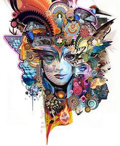 25 Creative Digital Artworks by Android Jones - Dreams of Digital Imagination. Follow us www.pinterest.com/webneel