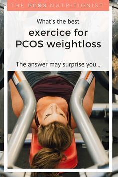 What's the best exercise for PCOS weight loss? Based on scientific research, the answer may surprise you... Find out how to start your PCOS weight loss.