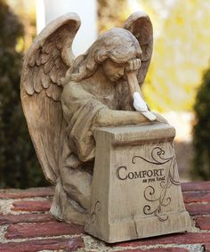 Look what I found on #zulily! Comfort As You Heal Garden Statuary #zulilyfinds