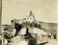 old 219 traveling west virginia | Buckwheat Festival King and Queen, 1939. Photo by the West Virginia ...