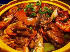 Chicken. Shrimp. Crab @topfoodnews_friedchicken