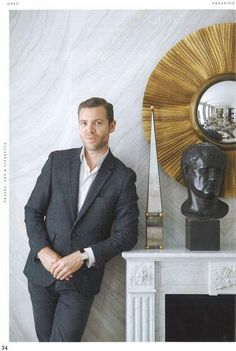 """""""Jean-Louis Deniot is the Minister of Interiors - ONLY Magazine / May 2014 issue"""" Jean Louis Deniot, Luxury Interior, Interior Design, White Houses, Style Icons, Suit Jacket, Paris Chic, Design Inspiration, Inspirer"""