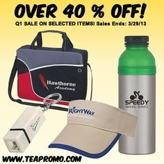 The Executive Advertising - Promotional Products BLOG: Q1 Sale Items at The Executive Advertising