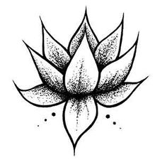 Lotus Flower Temporary Tattoo Ethnic Art by JoellesEmporium