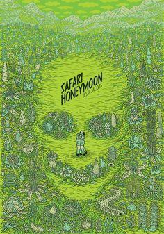 Safari Honeymoon: Eris Edizioni porta in libreria il fumetto di Jesse Jacobs Safari, Book Cover Design, Book Design, Bone Books, Beste Comics, Jungle Love, Hieronymus Bosch, Best Horrors, Horror Comics