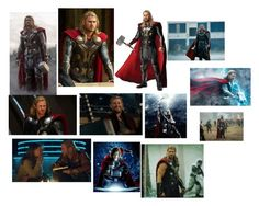 Thor by marcia-hernandez on Polyvore featuring polyvore and art