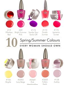Brights & Pastels Bio Sculpture Gel Nails Summer, Bio Sculpture Nails, Bio Gel Nails, Fun Nails, Gel Nail Colors, Gel Color, Gorgeous Nails, Amazing Nails, Summer Colors