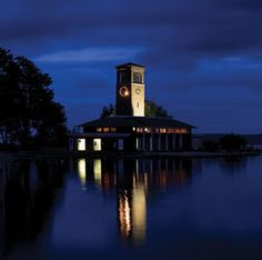 Chautauqua Institution - Miller Bell Tower - photo by Greg Funka, via Chautauquan Daily