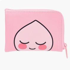 Kakao Friends Official Goods Apeach Mini Zip Around Wallet Two Different Face #KakaoFriends #MiniWallet