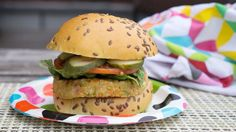 This flavor-packed veggie burger recipe will wow your BBQ guests