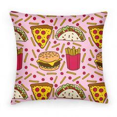 #junkfood #food #pillow #cute #love