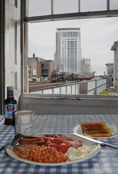 Breakfast view by Taliesin Coombes, Young Landscape Photographer of the Year 2010