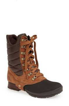 A true winter boot! (not ready for the winter, but I am going to go into it in style!!!) @nordstrom