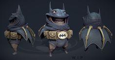 Duncan Fraser _ Little Fat Batman