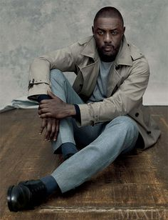 Idris Elba Handsomely MANS UP For MAXIM's September 2015 Cover