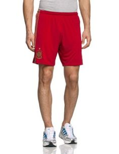 2014 Spain Home World Cup Football Shorts available at http://www.world-cup-products-worldwide.com/2014-spain-home-world-cup-football-shorts/