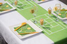 Décoration de table tennis